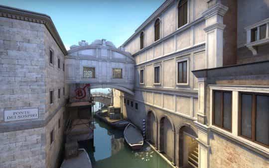 Канал на карте Canals CS:GO